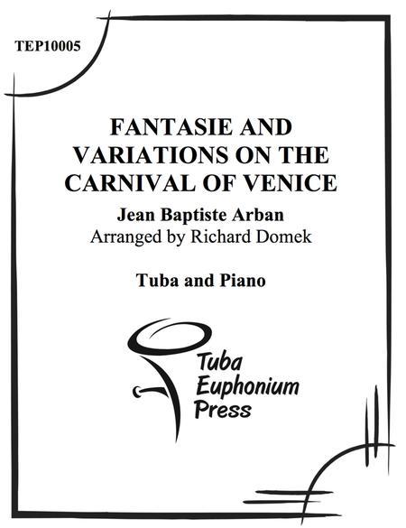 Sheet music: Carnival of Venice (Variations) (Trumpet)