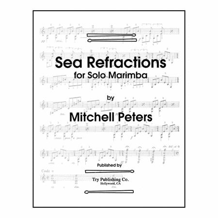 Sheet music: Sea Refractions (Marimba)