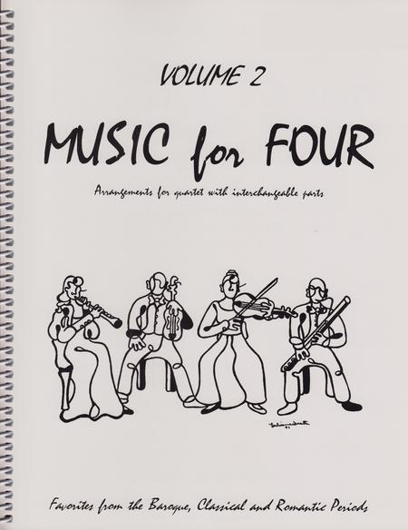Sheet music: Music for Four, Volume 2, Set of 4 Parts