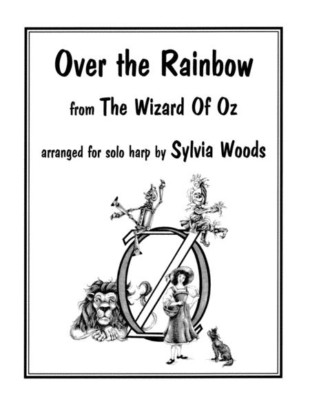 Sheet music: Over the Rainbow (Harp)