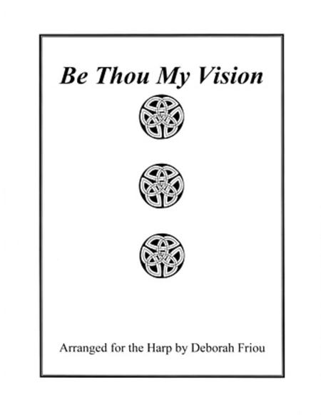 Sheet music: Be Thou My Vision (Harp)
