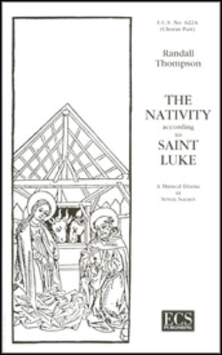 Sheet music: The Nativity According to St. Luke (Choral