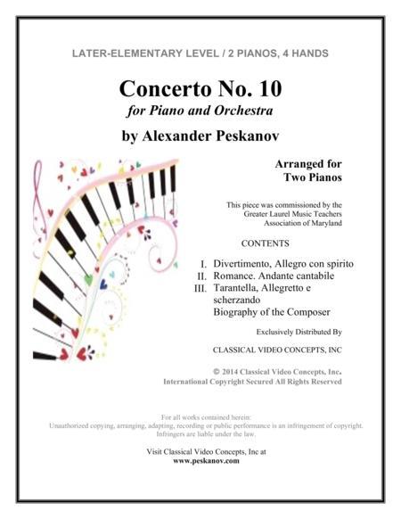 Alexander Peskanov sheet music to download and print