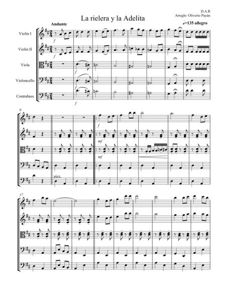Download Digital Sheet Music of Mecano for String Orchestra