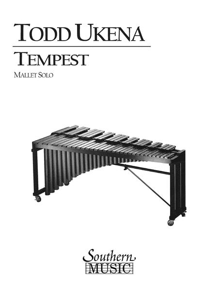 Sheet music: Todd Ukena: Tempest (Marimba)