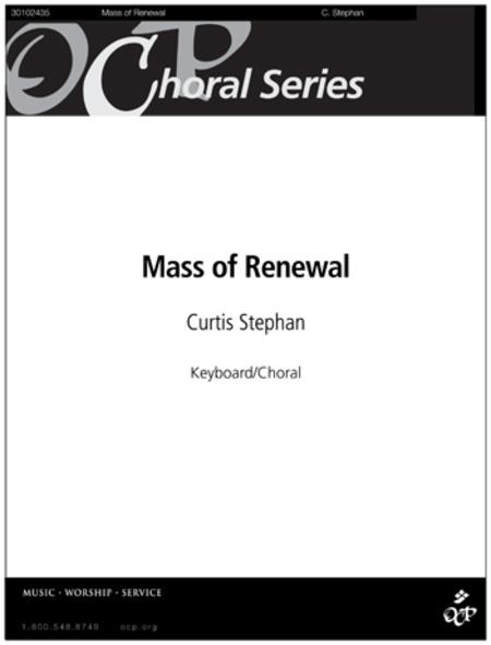 Sheet music: Mass of Renewal (Choral)