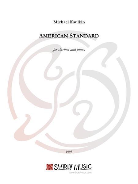 Sheet music: American Standard (Clarinet and Piano)