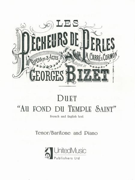 Partitions : Georges Bizet: Temple Duet (Pearl Fishers