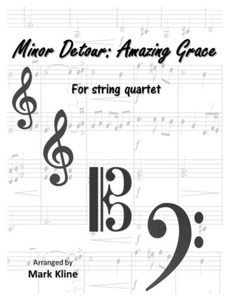 Partitions Digitales de amazing grace pour Quatuor à