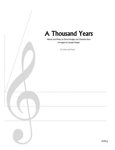Download Digital Sheet Music for Violin and Piano