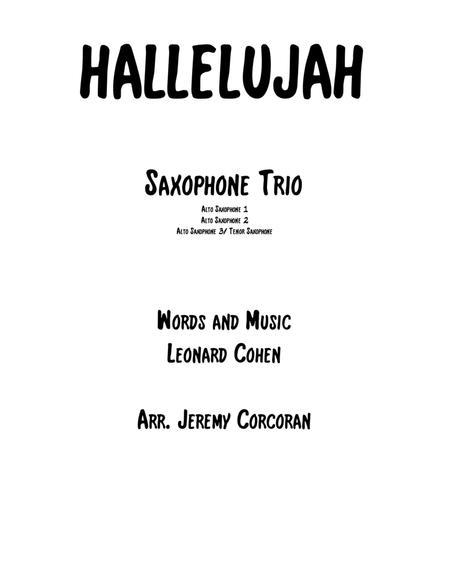 Download Digital Sheet Music for 3 Saxophones (trio)
