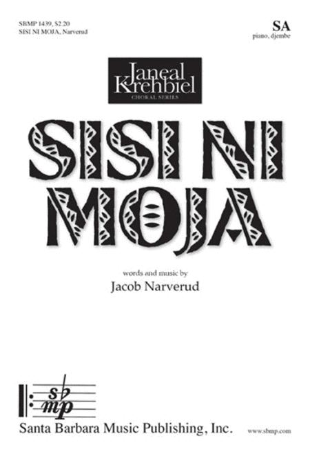 Sheet music: Sisi ni moja (SA, Piano)