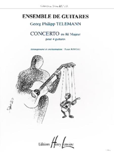 Sheet music: Concerto En Re Majeur (Guitar)