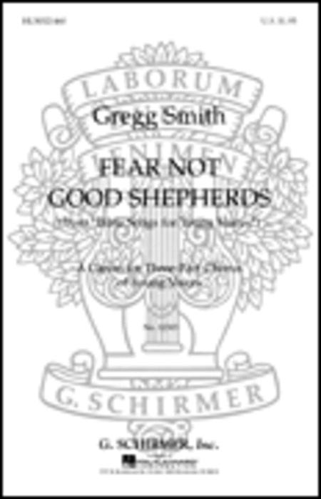 Sheet music: Fear Not Good Shepherds From Bible Songs For