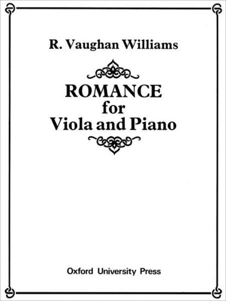 Sheet music: Romance (Viola, Piano)