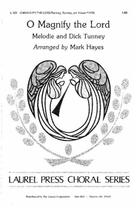 Sheet music: O Magnify The Lord (SATB)