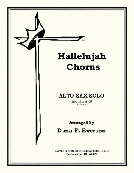 Sheet music: Hallelujah Chorus (Alto Saxophone)