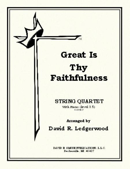 Sheet music: Great Is Thy Faithfulness