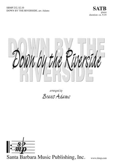 Sheet music: Down by the Riverside (SATB, Piano)