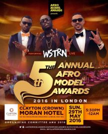 Wstrn Live Afro Model Awards 2016 Tickets Crown Moran