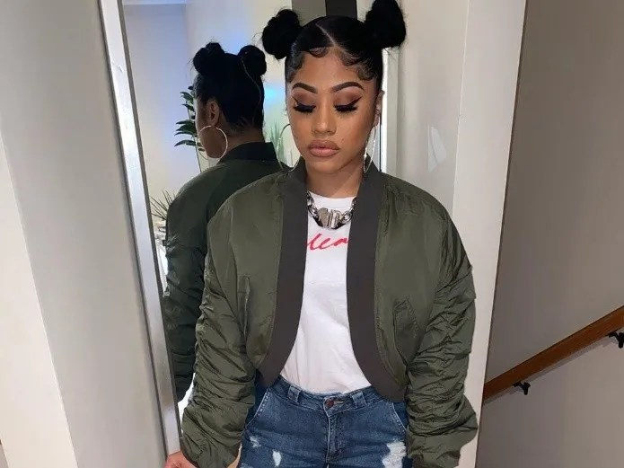 Sister of Cardi B is removed from the bodice to show off their great curves on Instagram(INSTAGRAM)