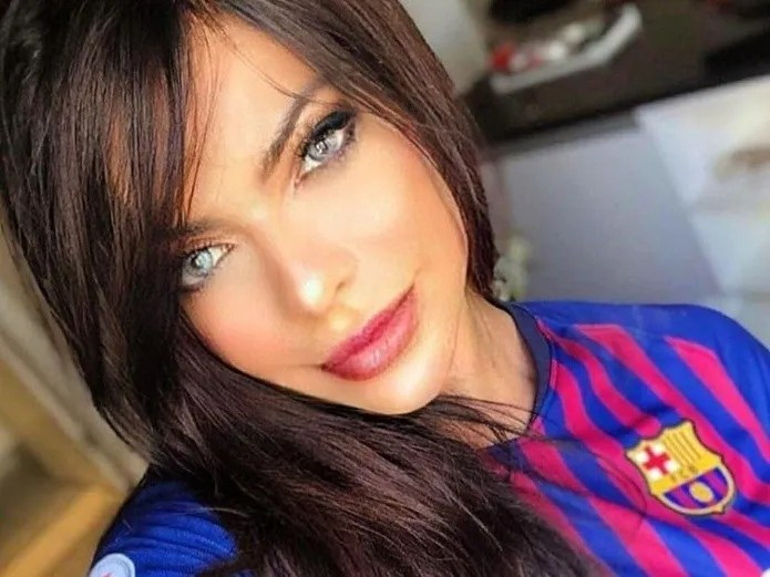 Suzy Cortez returns supporting Messi, tremendous gift for fans (Instagram)