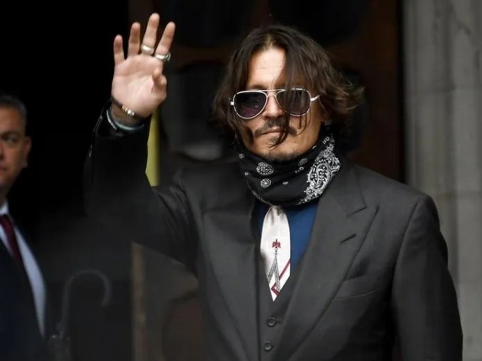 Johnny Depp fans ask him to be Homer from Los Locos Addams (AP)