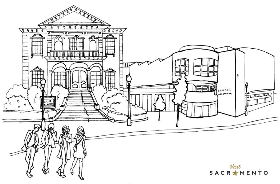 Sacramento Coloring Pages