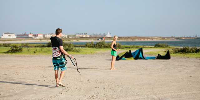 Corpus Christi Kitesurfing