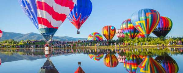 hot air balloon # 93
