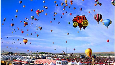 albuquerque balloon festival visit