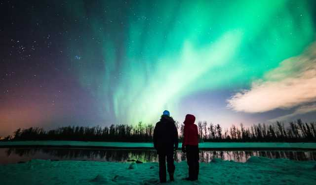 northern lights viewing anchorage