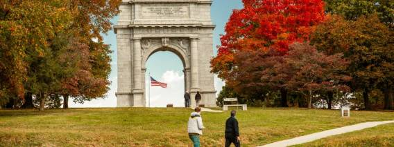 Valley Forge Park Visitor and Tourism Information