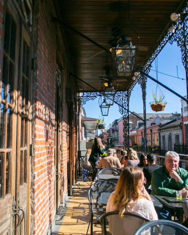 New Orleans Outdoor Dining Neworleans Com