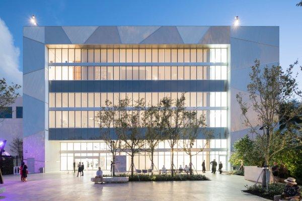 Institute Of Contemporary Art Miami Ica In Design District Fl