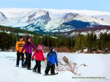 Snow Shoeing In Estes Park Colorado
