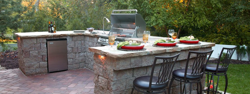 covered outdoor kitchen bbq kits 5 ideas to spice up your backyard kitchens open air