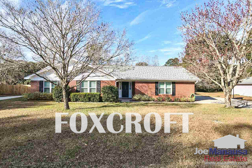 Foxcroft in NE Tallahassee is among the most-desired neighborhoods in town
