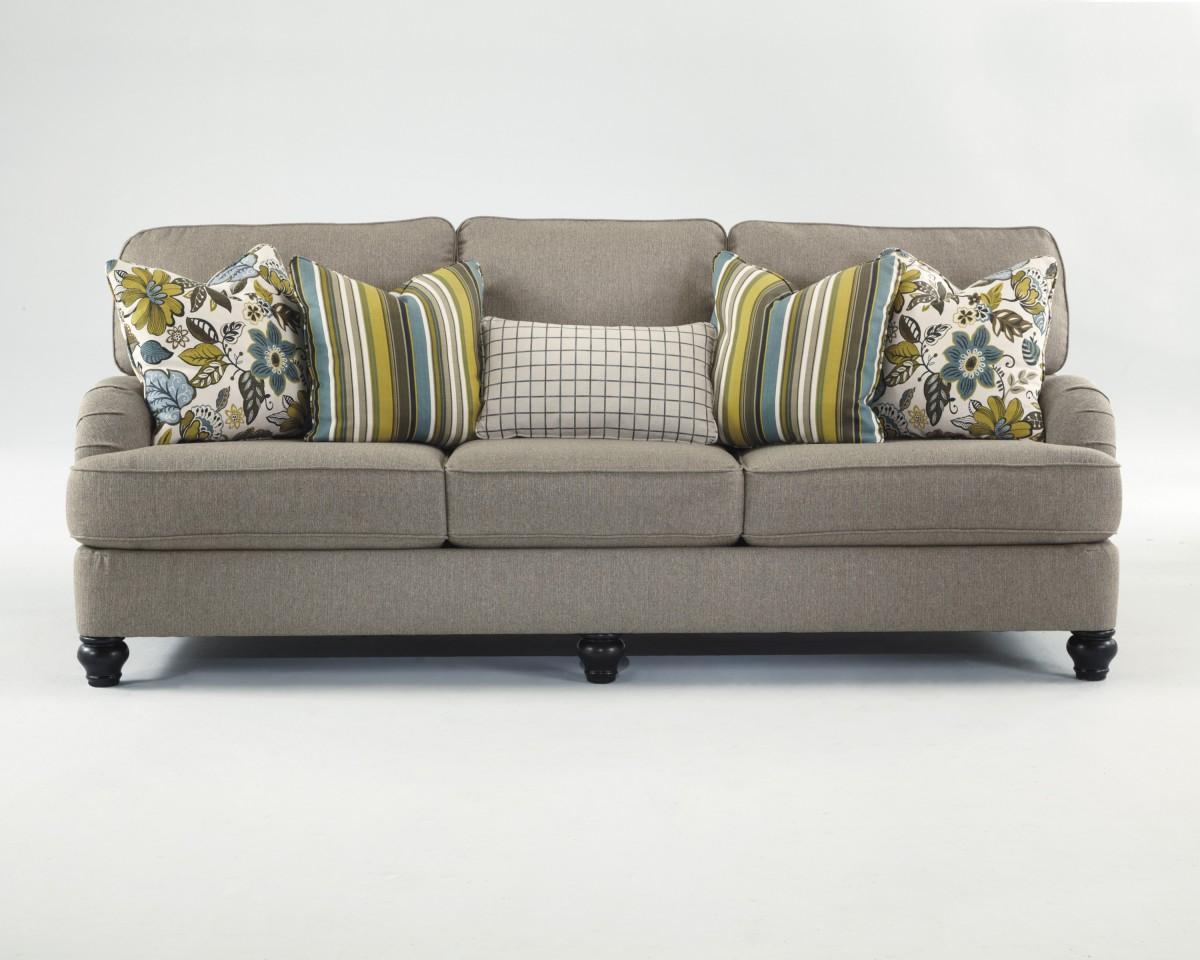 ashley hariston sofa review art van clearance bed 2550038 shitake