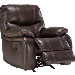 Power Sofa Recliner Mechanism Big And Tall Sleeper 4790025 Signature By Ashley Pranas Rocker Brindle