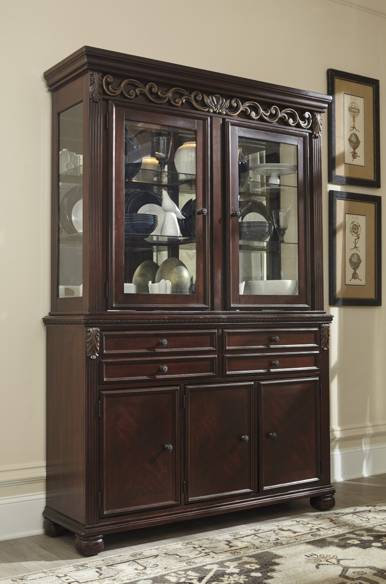 D62681 Signature by Ashley Leahlyn Dining Room Hutch