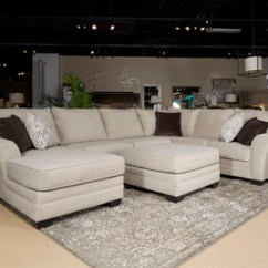Ashley Oversized Chair Discount Office 1380408 Palempor Accent Ottoman Pebble - Dewaard & Bode