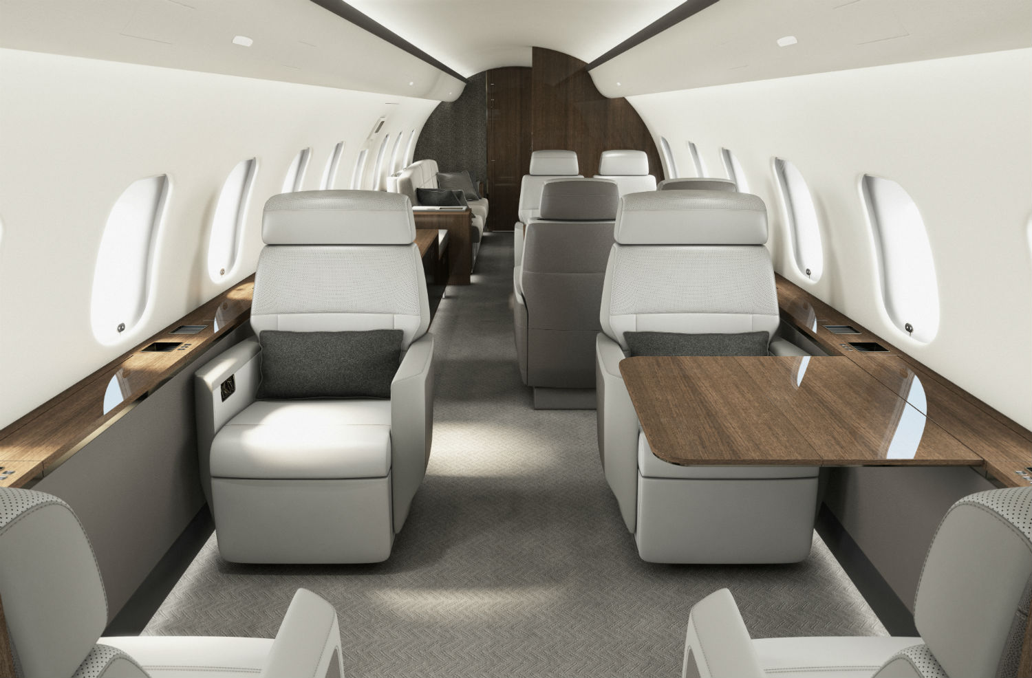 Bombardier introduces showstopping Premier cabin for