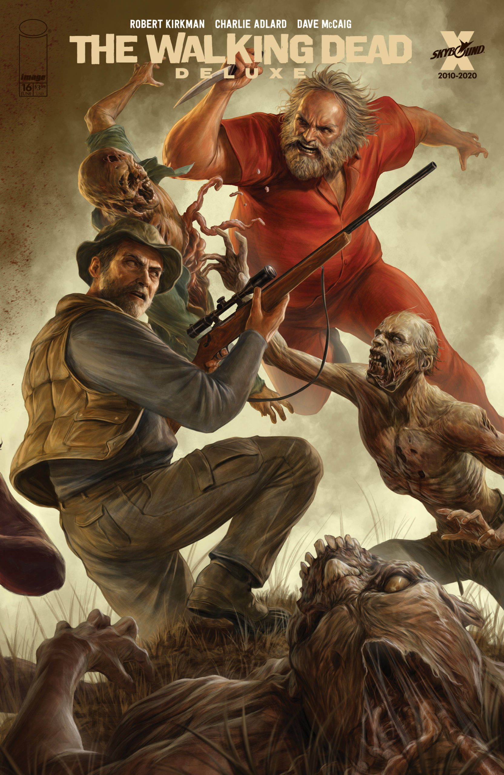 The Walking Dead Ddl : walking, Walking, Deluxe, #13-18, Rapoza, Connecting, Covers, Announced, Skybound, Entertainment