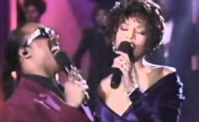 Forgotten Duets When Whitney Houston Sang With Stevie
