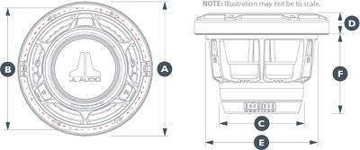 JL Audio M880-CCX-CG-WH (m880ccxcgwh) 250W 8.8