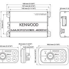 Rockford Fosgate Wiring Diagram Mercedes Sprinter Diagrams Kenwood Kac-m1824bt 180w Rms Compact Bluetooth 4-channel Class D Marine/atv Amplifier