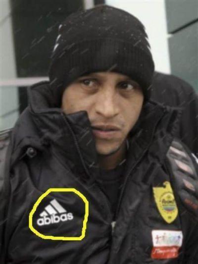 POZA SAPTAMANII: Roberto Carlos, imbracat cu geaca ABIBAS la Anji Mahacikala! :))