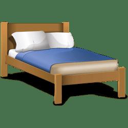 Classic Cartoon Bed transparent PNG StickPNG