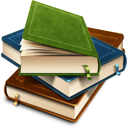 Stack Of Beautiful Books transparent PNG StickPNG